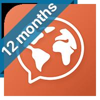 35% OFF Mondly Premium 41 Languages - 7 Days Free